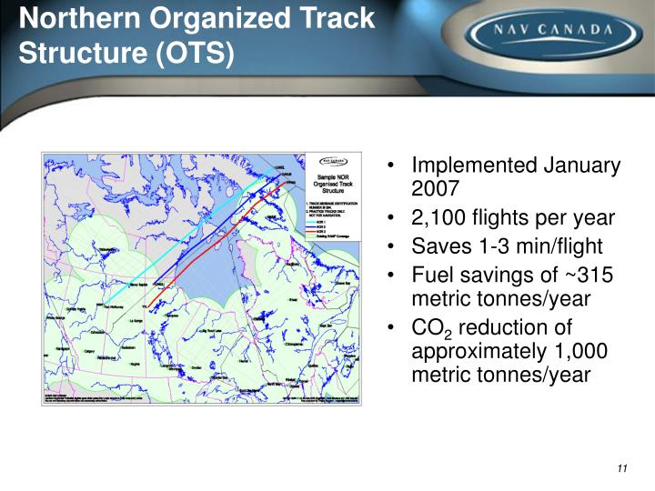 Northern Organized Track Structure (OTS)
