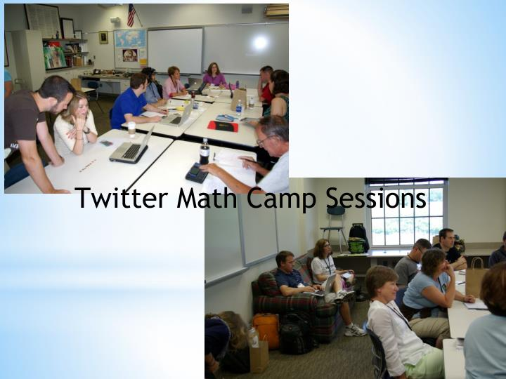 Twitter Math Camp Sessions