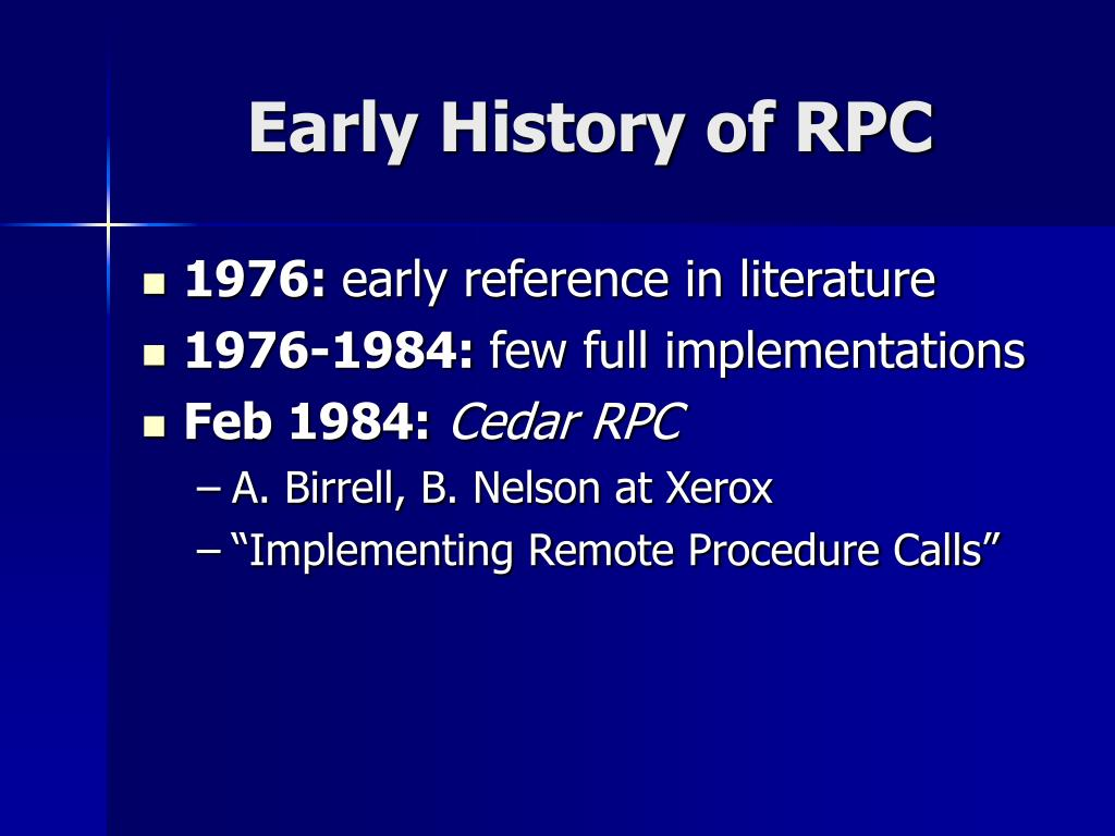 PPT - Remote Procedure Call PowerPoint Presentation - ID:3713947
