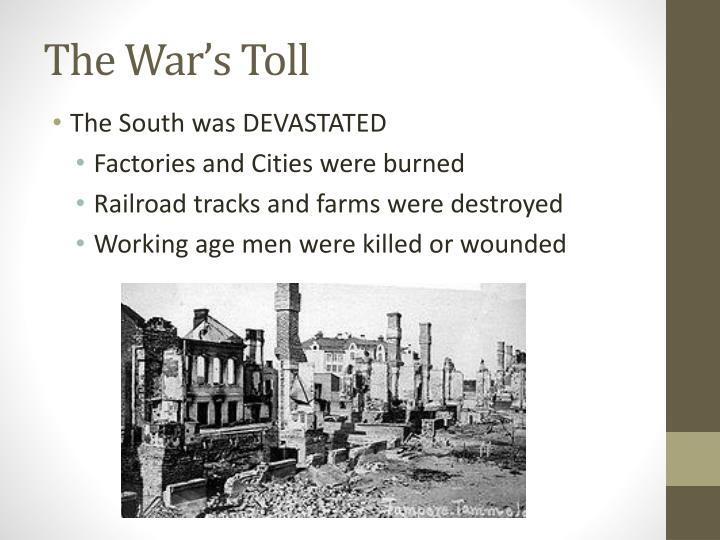 The War's Toll