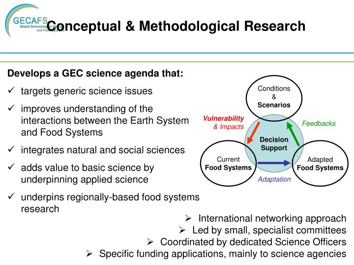 Conceptual & Methodological Research