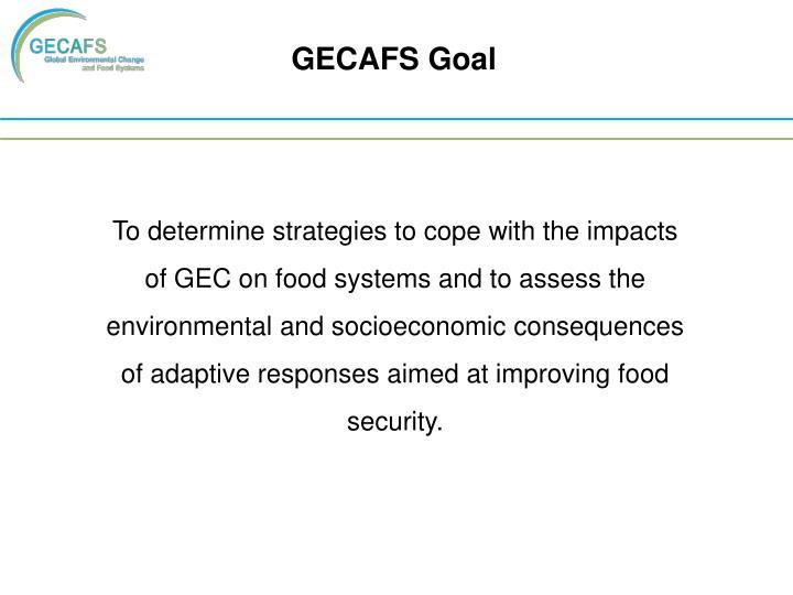 GECAFS Goal