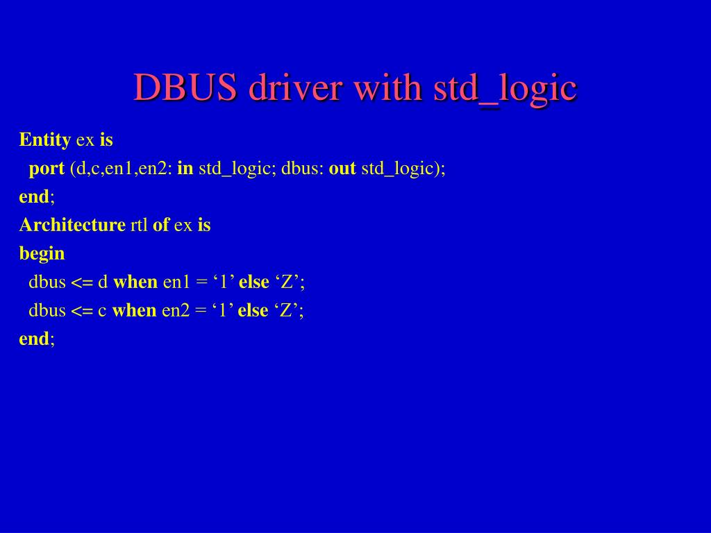 Dbus Alternatives