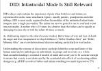 did infanticidal mode is still relevant