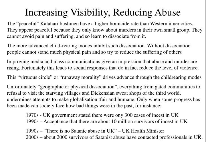Increasing Visibility, Reducing Abuse