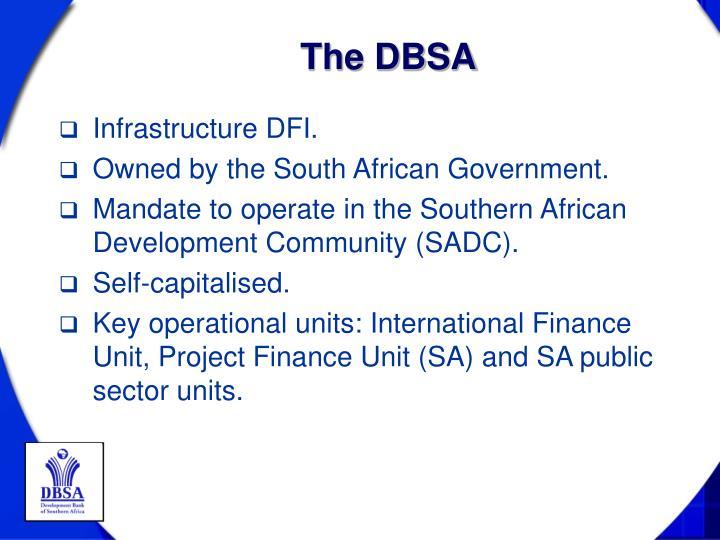The DBSA