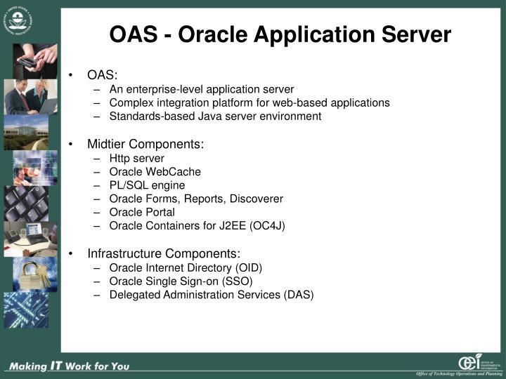 OAS - Oracle Application Server