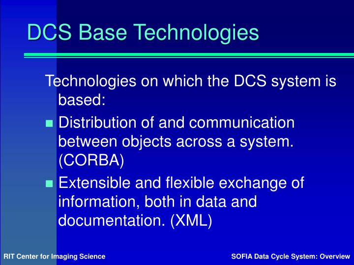 DCS Base Technologies