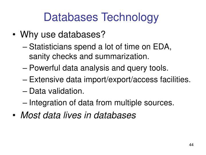 Databases Technology