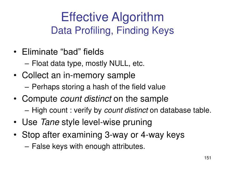 Effective Algorithm