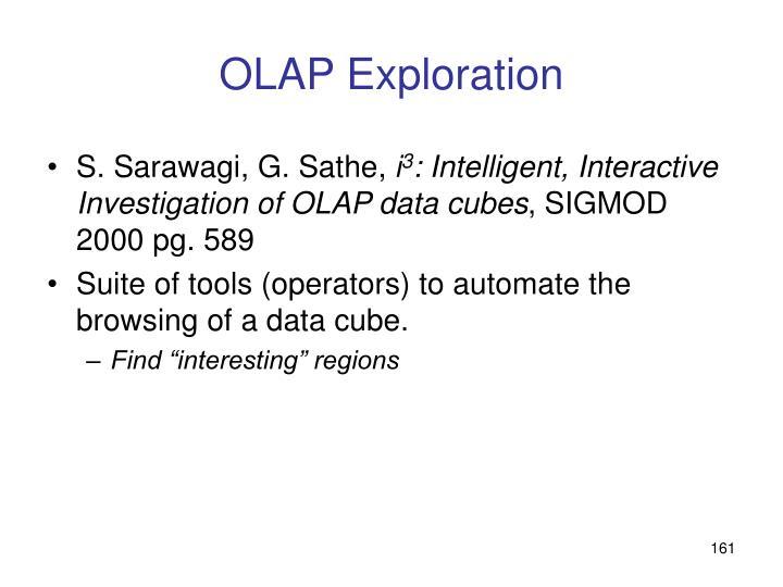 OLAP Exploration
