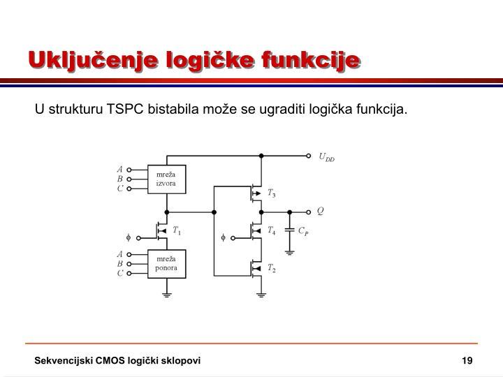 Uključenje logičke funkcije