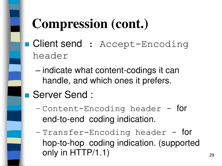 Compression (cont.)
