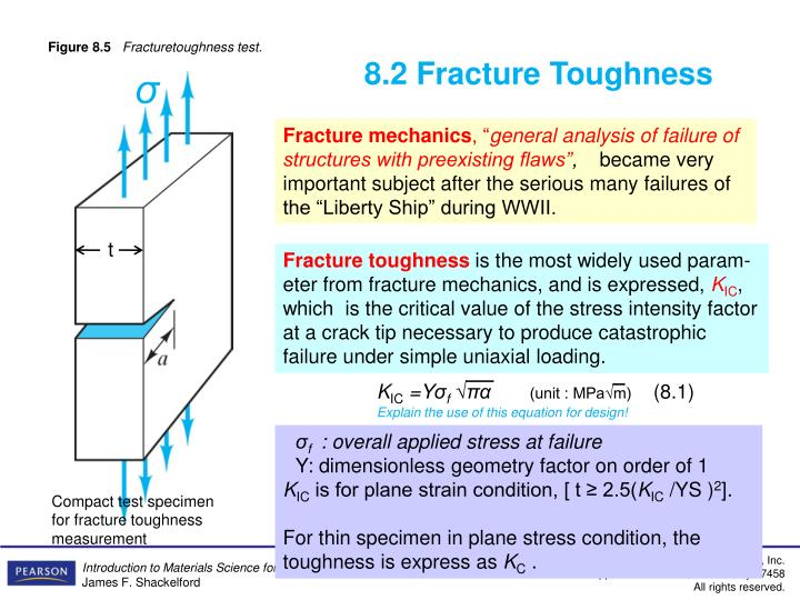 8.2 Fracture Toughness