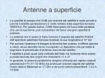 antenne a superficie