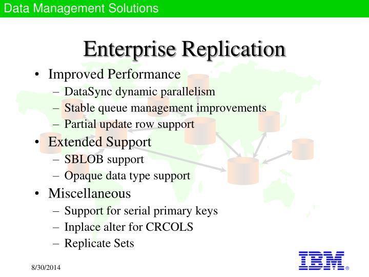 Enterprise Replication