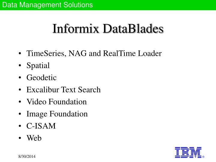 Informix DataBlades