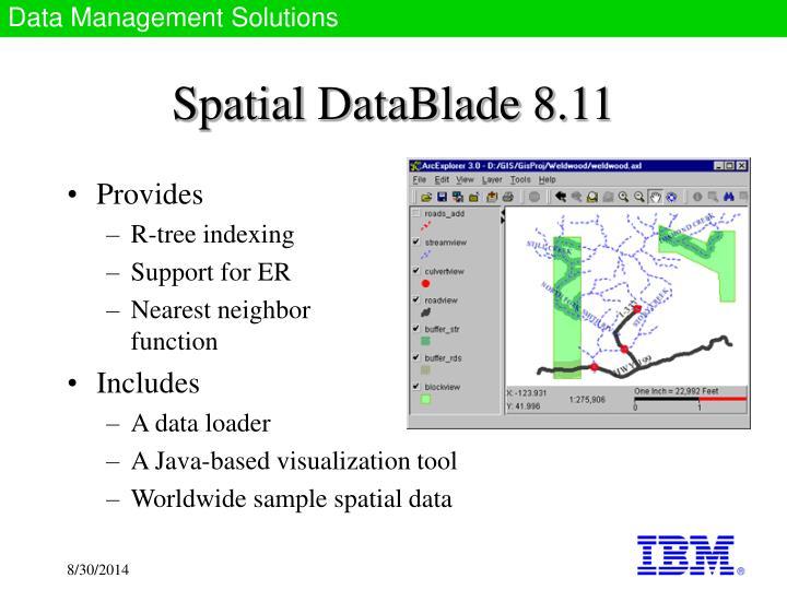 Spatial DataBlade 8.11