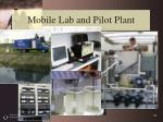 mobile lab and pilot plant