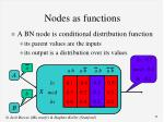 nodes as functions