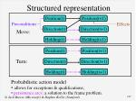 structured representation
