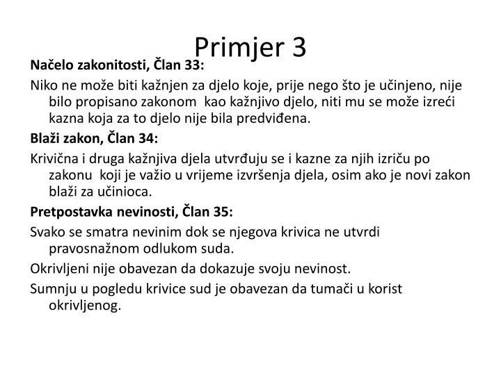 Primjer 3