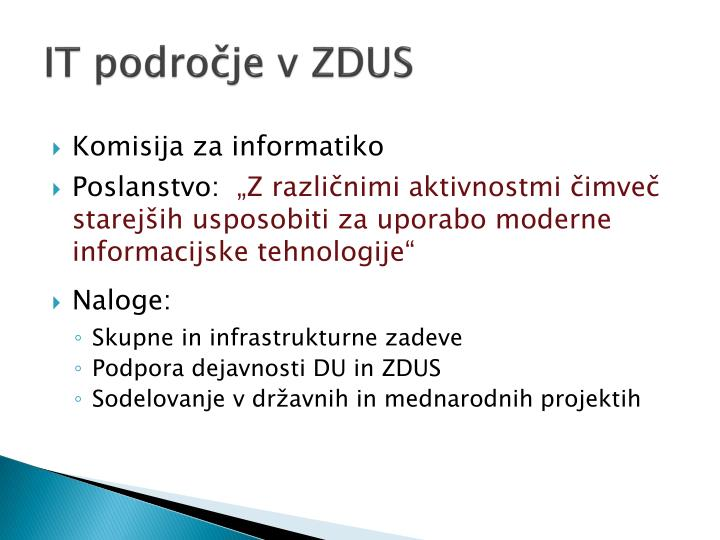 It podro je v zdus