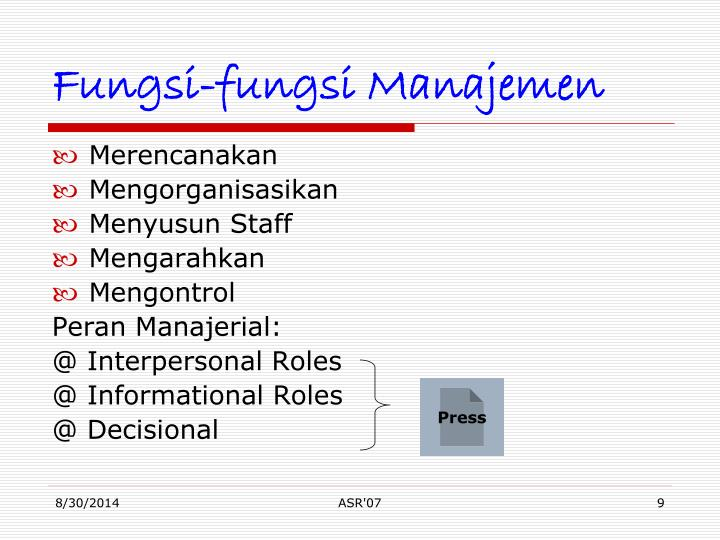 decisional roles Four decisional management roles pertain to action through making and following through on decisions ideally, a skilled manager is able to move in and out of each role with ease, but it is more likely for new leaders to gravitate naturally toward one or two of the three areas.