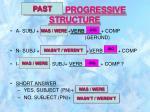 present progressive structure
