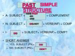 present simple structure