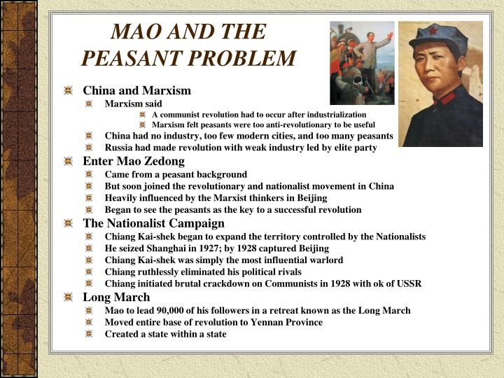 MAO AND THE