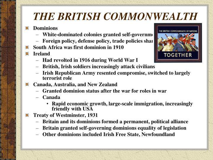 THE BRITISH COMMONWEALTH