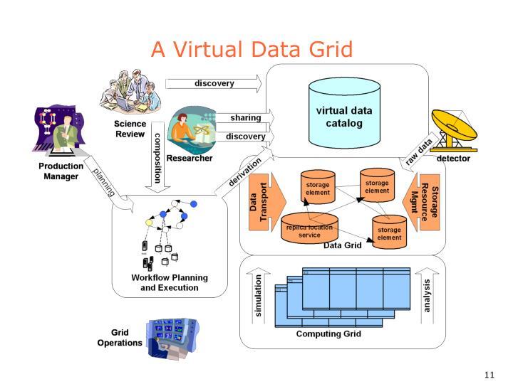 A Virtual Data Grid