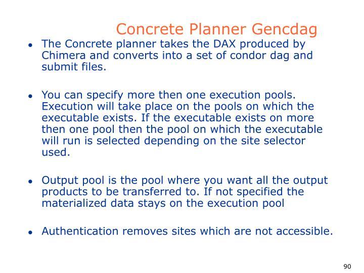 Concrete Planner Gencdag