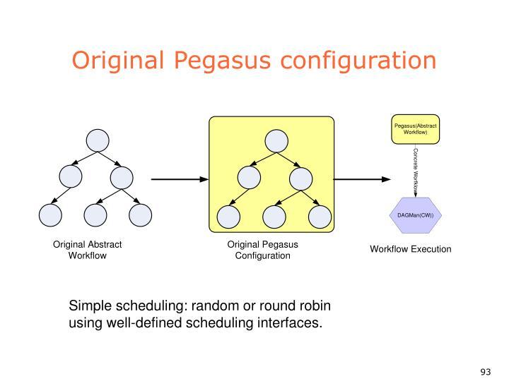 Original Pegasus configuration