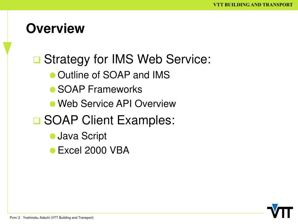 PPT - IFC Model Server Outline of SOAP based API Data Access Layer
