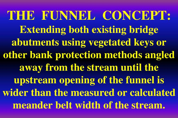 THE  FUNNEL  CONCEPT: