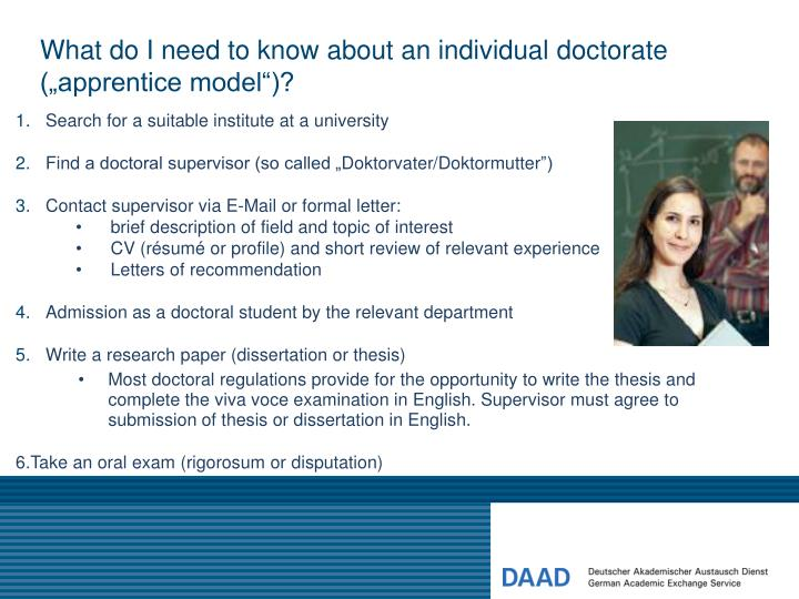 dissertation oral examination