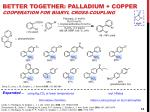 better together palladium copper cooperation for biaryl cross coupling1