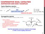cooperative dual catalysis inspiration and early examples