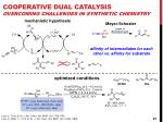 cooperative dual catalysis overcoming challenges in synthetic chemistry