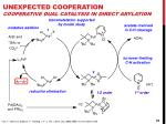 unexpected cooperation cooperative dual catalysis in direct arylation2