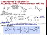 unexpected cooperation palladium palladium cooperative dual catalysis