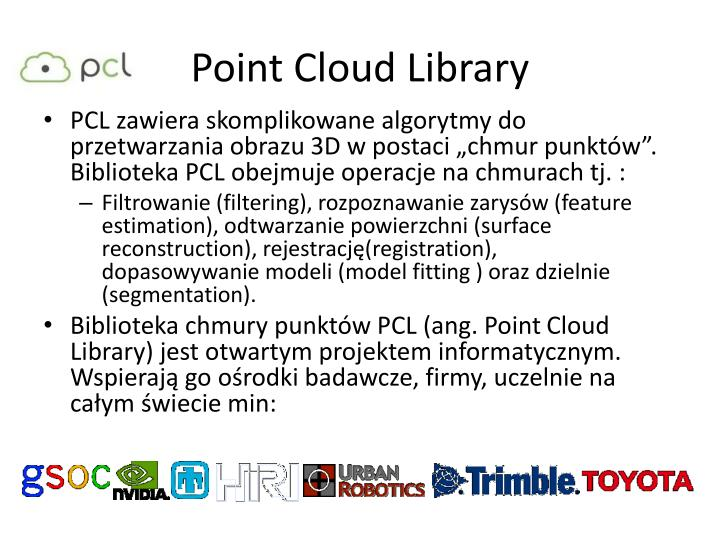 Point Cloud Library