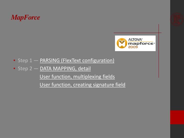 MapForce