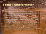 tesla transformator