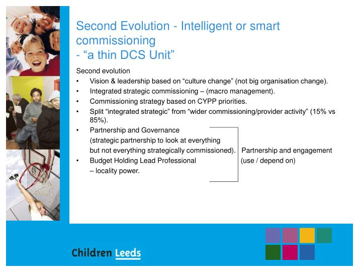 Second evolution intelligent or smart commissioning a thin dcs unit
