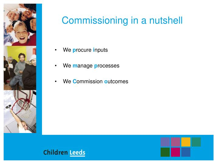 Commissioning in a nutshell