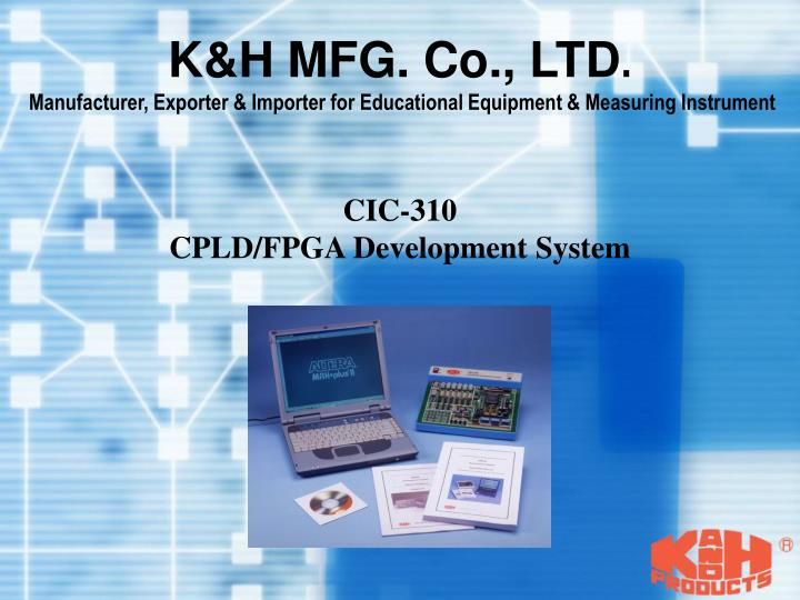 K&H MFG. Co., LTD