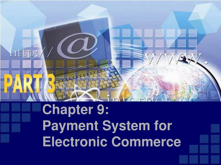 chapter 9 payment system for electronic commerce n.